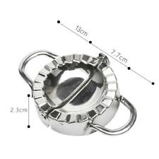 Stainless Steel Dumpling Pie Ravioli Making Mold Dough Pressing Kitchen Mould