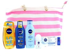 Nivea Sun Beach Must Haves pink set 7pc #