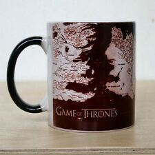 Game of Thrones Color Changing Coffee Tea Mug Ceramic Mug Map Mug Heat Sensitive