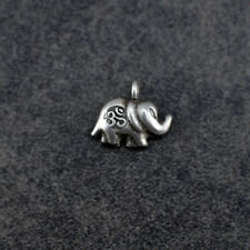 Thai Hill Tribe Silver Elephant Charm (HTCEL03)