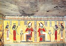 Egypt Luxor Queen's Valley Mural painting in the Tomb of Chamwes
