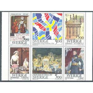 SUEDE CARNET DE SIX 500 ORE 1994 YVERT C1794 NEUF