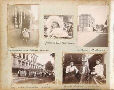 AMBIANCE ARTISTE PEINTRE DEGUISEMENT THEATRE  1900  PHOTOS  COLLÉES