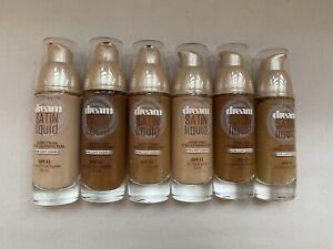 Maybelline Dream Satin Liquid Foundation (new/Unsealed)-choose shade