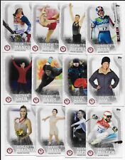 2018 Topps U.S. Olympic & Paralympic Team Trading Card Set  (93 Cards)
