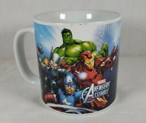 MARVEL AVENGERS ASSEMBLE 20 OZ COFFEE CUP MUG IRON MAN HULK THOR CAPTAIN AMERICA