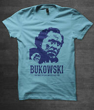 Charles Bukowski T shirt william burroughs ginsberg hunter s thompson