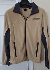 Bose Ladies Full Zip Jacket Camel Tan Khaki Color Sz Medium Super Cool