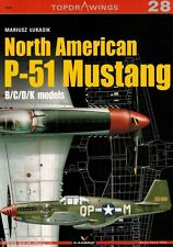 P-51 Mustang B/C/D/K models TopDrawings, KAGERO + Free Mask Foil