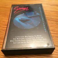 """SURVIVOR """"WHEN SECONDS COUNT"""" CASSETTE TAPE 1986 Rock"""