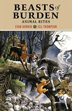 BEASTS OF BURDEN: ANIMAL RITES TPB Dark Horse Comics Collects #1-4 TP