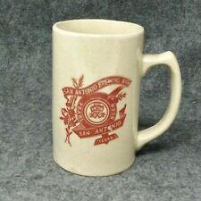 San Antonio Brewing Association Pearl Beer Pre Prohibition Mug Texas Rare