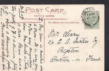 Family History Genealogy Postcard - Leary - Repton, Burton-On-Trent RF108