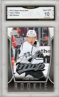 GMA 10 Gem Mint TYLER TOFFOLI 2013/14 UD MVP Rookie Card CANUCKS!