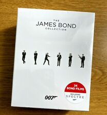 The JAMES BOND Collection (BLU RAY DISCS, 24 BOND FILMS, 2016) New/Sealed