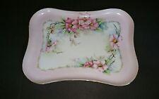 Handpainted Porcelain Dresser Vanity Tray Moritz Zdekauer Austria Hard Paste