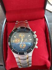 Mens Orlando Y360 Stainless Steel Quartz Watch (New Battery)