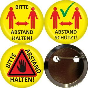 Button Abstand - Freie Motivwahl - Arbeitsschutz