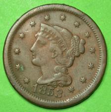 USA ONE CENT 1853