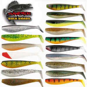 Fox Rage Zander Shad 10cm Gummifisch mit allen neuen Farben zur Auswahl Pro Shop