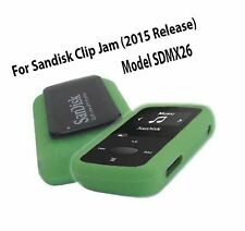 Silicone Skin Case Cover For SanDisk Clip Jam Mp3 Player 2015 R. Free Shipping