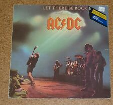 LP Vinyl AC DC Let there be rock  AC/DC ACDC Made in Spain Spanien Spanish