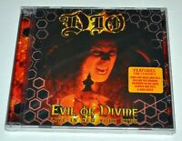 Dio Evil Or Divine Live NYC New CD Hype Sticker Ronnie James Dio