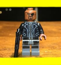 LEGO MARVEL SUPER HERO NICK FURY GENUINE RARE MINIFIGURE ONLY FROM SET# 76042