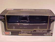 1966 Chevy C-10 Fleetside Pickup Die-cast Truck 1:24 Motormax 8 inch Navy Blue