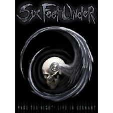 """SIX FEET UNDER """"WAKE THE NIGHT LIVE IN..."""" DVD+CD NEW"""
