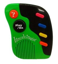 Vintage 1995 INSULTINATOR Programmable Insult Machine Toy Electronic Untested