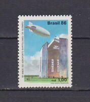 S19202) Brasilien Brazil 1986 MNH Neu Airport / Zeppelin 1v