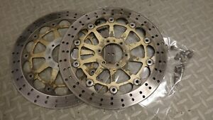 2001 DUCATI ST4 ST 4 brembo front brake discs with bolts