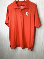 Men's XXL Coca-Cola Polo Olympic Shirt Red Embroidered Patch Logo
