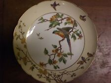Early Charles Field Haviland  Limoges Porcelain Bird Footed  cake stand 1868