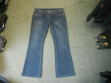 Stonewashed Bootcut Plus Size L32 Jeans for Women