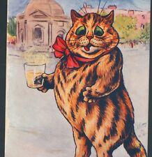 "Scarce Wain.! Fat Cat ""Too Solid Flesh"" ""Taking Harrogate Waters"" Tuck Postcard"