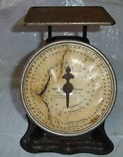 ANTIQUE TRINER POSTAL SCALE 1PAT. 906 DIAL LETTERS NEWSPAPEERS BOOKS MERCHANDISE