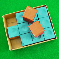 Billiard Table Chalk Pool Snooker Cue Tip The Blue Freeshipp chalk W2E1 Hot W8E6