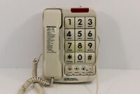 Northwestern Bell Big-Button Corded Phone Plus 13-Number Memory 20200 Braille