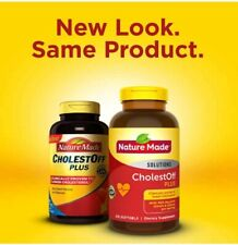 Nature Made Cholest-Off Plus 900mg 210 Softgels Naturally Lower Cholesterol