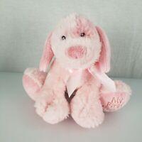 Baby Ganz My First Puppy Dog Pink Plush Stuffed Animal Lovey Baby Toy Girl