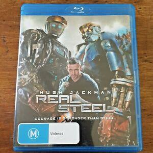 Real Steel Blu-ray Like New! – FREE POST