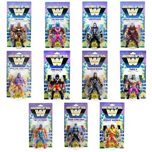 """Masters of the WWE Universe 5.5"""" Action Figure WAVE 5 Pick 15 Wrestlers 3/28/21"""