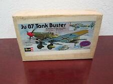 1975 Ju 87 TANK BUSTER G-2 or D-5 BOMBER PLANE MODEL MAIL AWAY & BOX SEALED