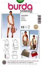 Burda Sewing Pattern 7223 Bags NEW