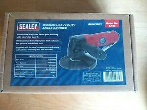 Sealey SA43 Air Angle Grinder 100mm Heavy-Duty