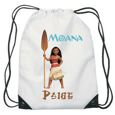 Moana Spear Drawstring PE Bag Personalised swimming shoes Gym