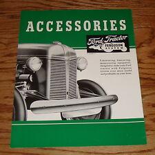 1939-1947 Ford Tractor Ferguson Accessories Sales Brochure 40 41 42 43 44 45 46