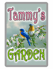 Personalized Garden Sign Printed with YOUR NAME Custom METAL SIGN Sign ALUMINUM